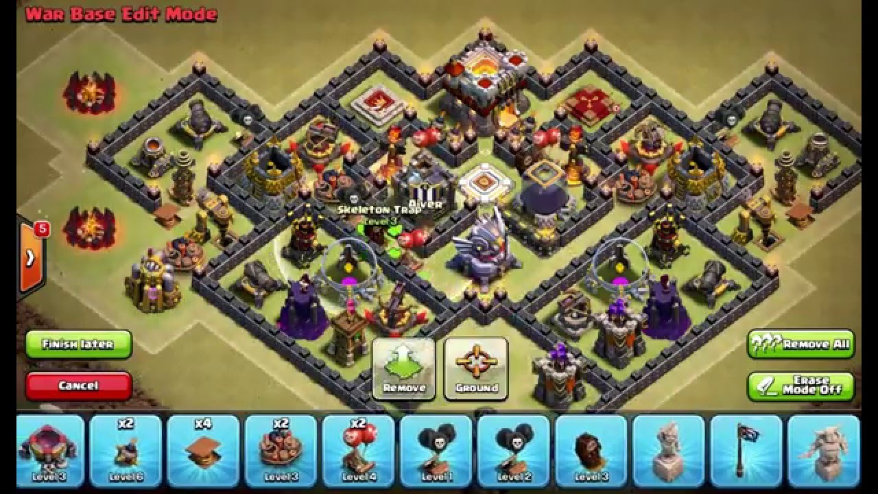 Clash of Clans Layouts...