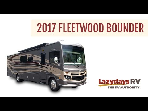2017 Fleetwood Bounder Video Tour From Lazydays