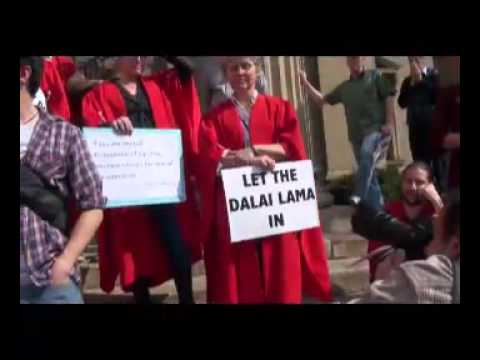 Wits marches for Dalai Lama