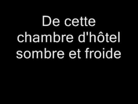 sarah mclachlan - in the arms of an angel - traduction