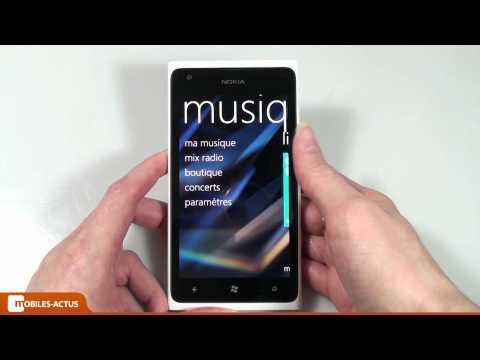 Nokia Lumia 900 - Test, démonstration, prise en main