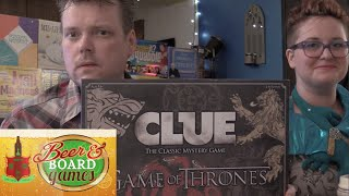 Game of Thrones Clue - Beer and Board Games