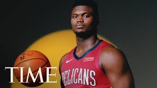 Pelicans' Zion Williamson On His NBA Dreams, Giving Back To His Community & More | TIME 100 NEXT