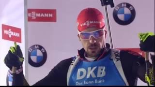 2016.12.15 - Биатлон - Кубок Мира 2016-2017, спринт, мужчины - UA׃Перший