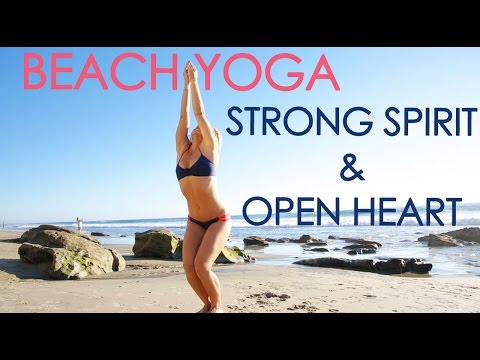 Beach Yoga for a Strong Spirit and an Open Heart