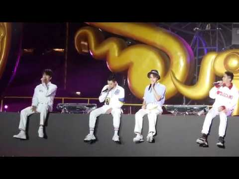 [LIVE FANCAM] F4 Sings Create Memories + For You + Never Would've Think Of