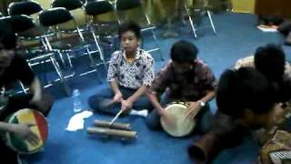 First trial traditional music instrument of Papua