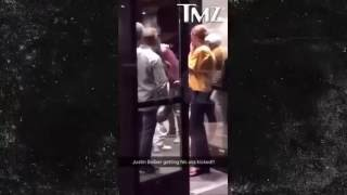 Драка Джастина Бибера с фанатом(Justin Bieber got into a fight with a fan).