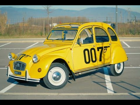 citroen 2cv 6 special james bond youtube. Black Bedroom Furniture Sets. Home Design Ideas