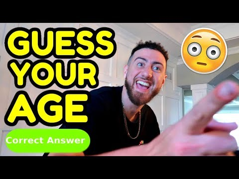 MAGIC TRICK ★ I Will Guess Your AGE *TRICK REVEALED* ft. Team Alboe