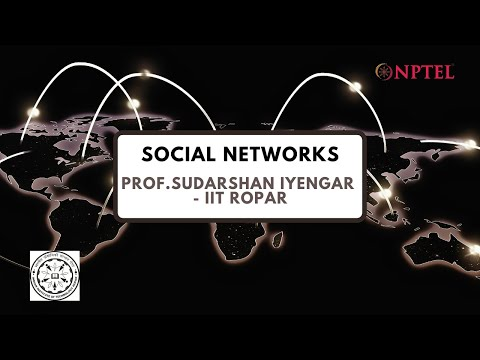 Trailer for NPTEL's Social Networks Course