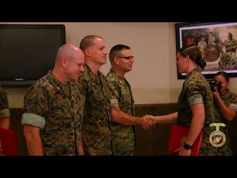 The Marine Corps' First Female AAV Officer