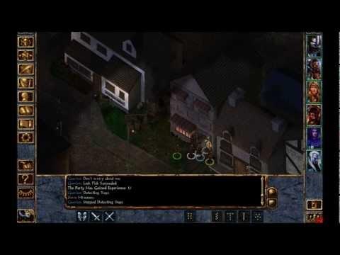 Let's Play Baldur's Gate Enhanced Edition - Arkion and Nemphre |