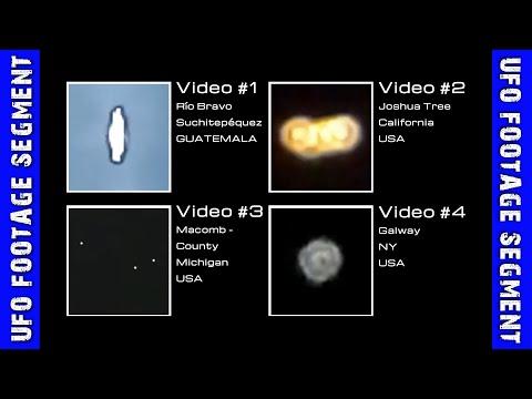 UFO SIGHTINGS • 4 Videos • Guatemala • California • Michigan • NY