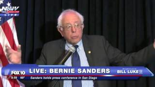 FNN: Bernie Sanders Calls Out Arizona Voting Process, Discusses Primary Results -  FULL VIDEO