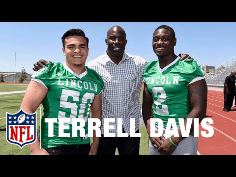 Terrell Davis and Marcus Allen | Super Bowl High School Honor Roll | NFL