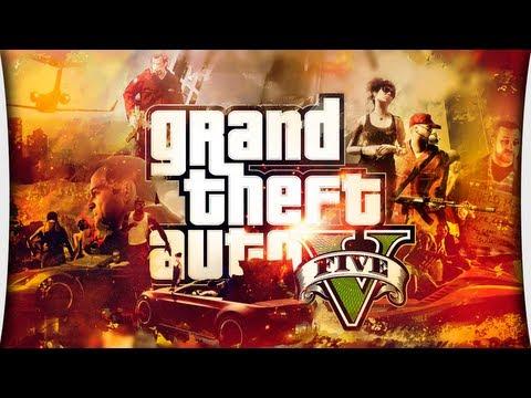 GTA V - Часть 1 Начало игры (PS3)