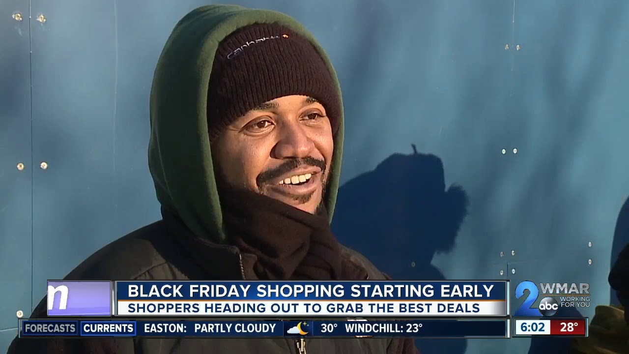 Black Friday Shopping Starting Early