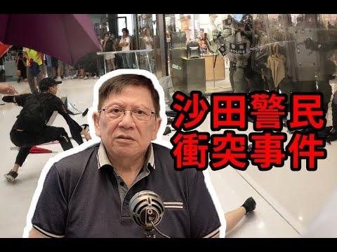 沙田血腥衝突全真相 二人危殆〈蕭若元:理論蕭析〉2019-07-15