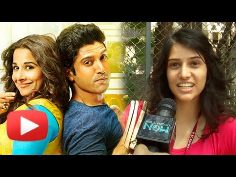 Vidya Balan & Farhan Akhtar - How Is The Pairing? Public Speaks