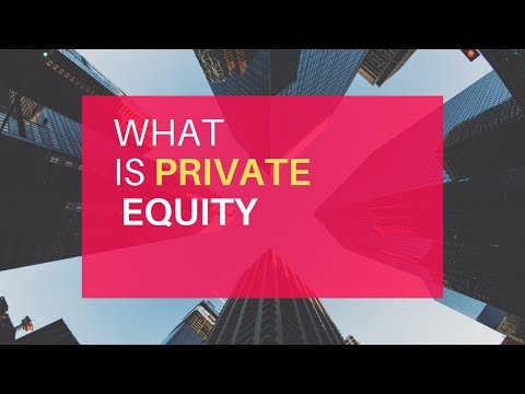 What REALLY is Private Equity? What do Private Equity Firms ACTUALLY do?