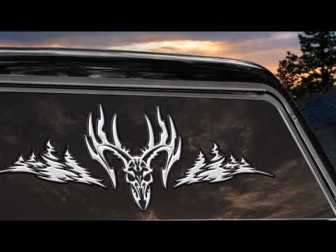 Legendary Whitetails Installation For Truck Buck Decal
