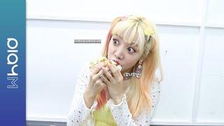 (SUB)Apink Mini Diary - 맛있게 먹쥬 : M사 신 메뉴 햄버거 편
