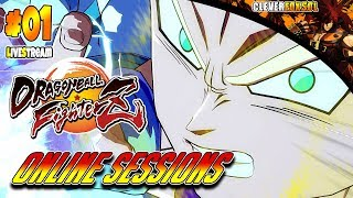 Dragon Ball FighterZ   LIVE STREAM   Online Sessions