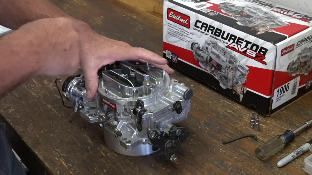 Jeff Smith's Garage Review of the Edelbrock AVS2 Series Carburetor