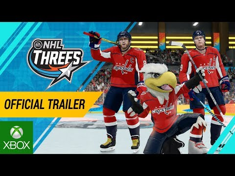 NHL 18 | NHL Threes Official Gameplay Trailer