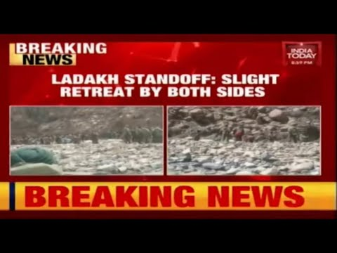 Ladakh Standoff: Slight Retreat By Indian, Chinese Armies In Galwan Valley