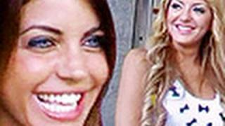 Veronica Ciardi ed Elena Morali, pupe da botto