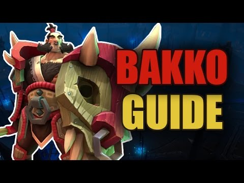 видео: battlerite - bakko guide / Волосатая имба [patch 0.11]