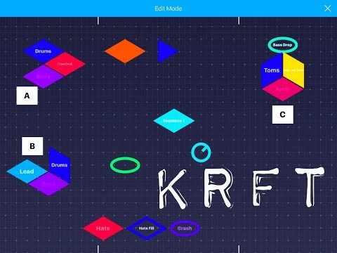 KRFT by Studio Amplify Setting Up & Getting Started Demo for the iPad