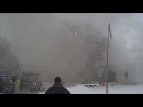 Fire at 321 Dame Road, Durham, New Hampsh