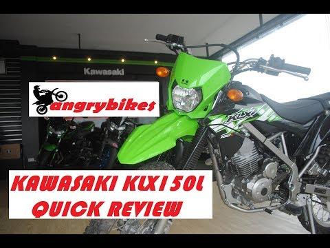 KAWASAKI KLX 150L ANGRYBIKES QUICK REVIEW