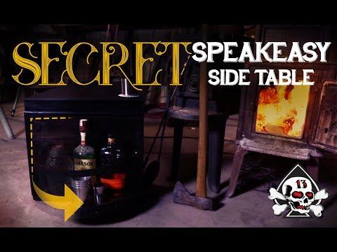 Speakeasy Secret Door Bar Table!