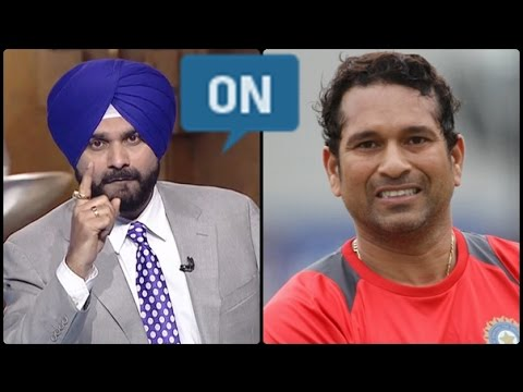 Navjot Singh Sidhu Great Speech on Sachin Tendulkar Debut !!!