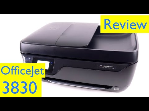 HP Officejet 3830 Review - Wireless All-in-One Printer, Scanner, Copier, Fax