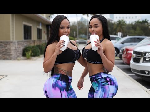 Thumbnail: Mirror Twins: Sisters Get Matching Booties By Leading Identical Lives