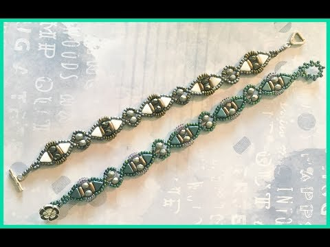 Aztec Kheops Beaded Bracelet