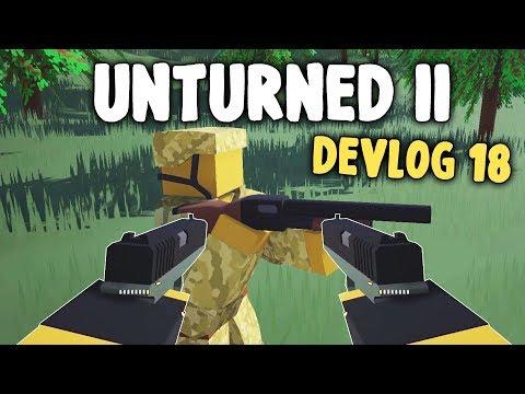 DUAL GUNS & CUSTOM GAMEMODES - Unturned II Devlog #18 thumbnail