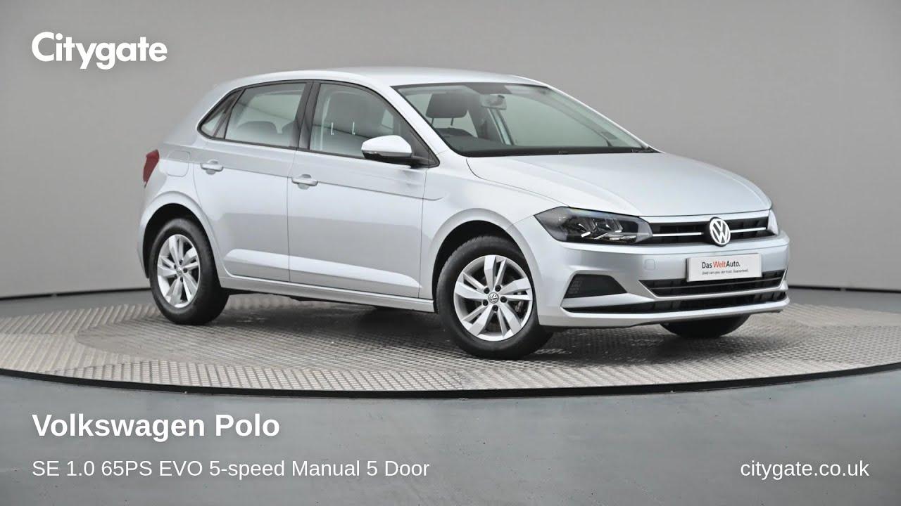 Volkswagen Polo - SE 1.0 65PS EVO 5-speed Manual 5 Door - Citygate Volkswagen Ruislip - YouTube