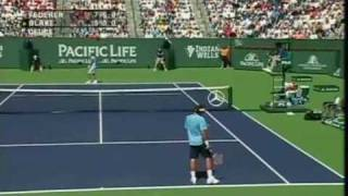 ATP MS Indian Wells 2006 - Final - Federer vs Blake [8/10]