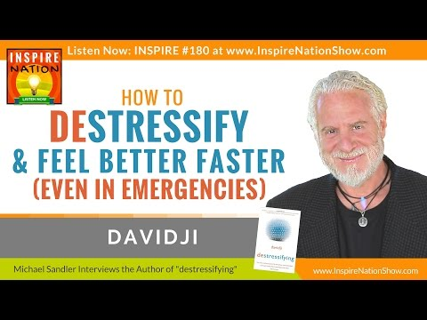 ★ How to De-stress & Feel Better in Only 16 Seconds | davidji | destressifying