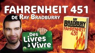 Fahrenheit 451, de Ray Bradburry / L'autre BIG BROTHER - MatYou - Des livres à vivre