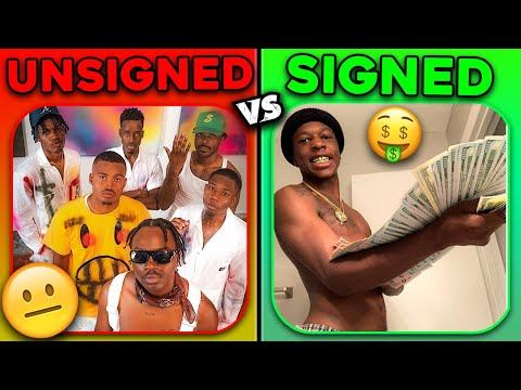 UNSIGNED RAPPERS vs. SIGNED RAPPERS!   Who's Better?