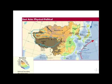 1 Physical Geography of East Asia