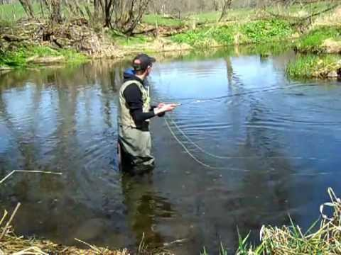 Fly fishing wisconsin early season trout 2012 part 3 for Wi fishing season