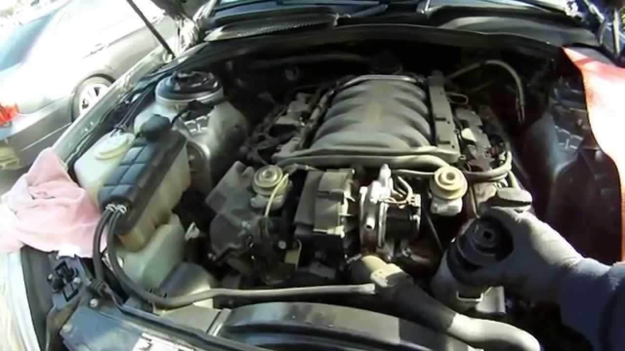mercedes s430 b service part one